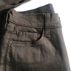 NYDJ Pants - NYDJ Brown Stretchy Jean Pants